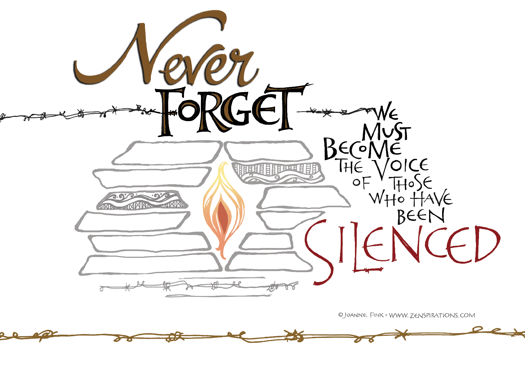 Holocaust Remembrance Day - Zenspirations