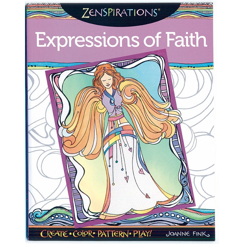 Zenspirations Coloring Book Expressions Of Faith Zenspirations