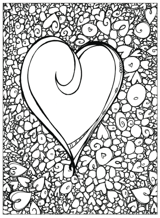 Click Here To Download A PDF Of The Zenspirations Rock Hearts Page From Abstract Color Create Pattern Play Book When You Get