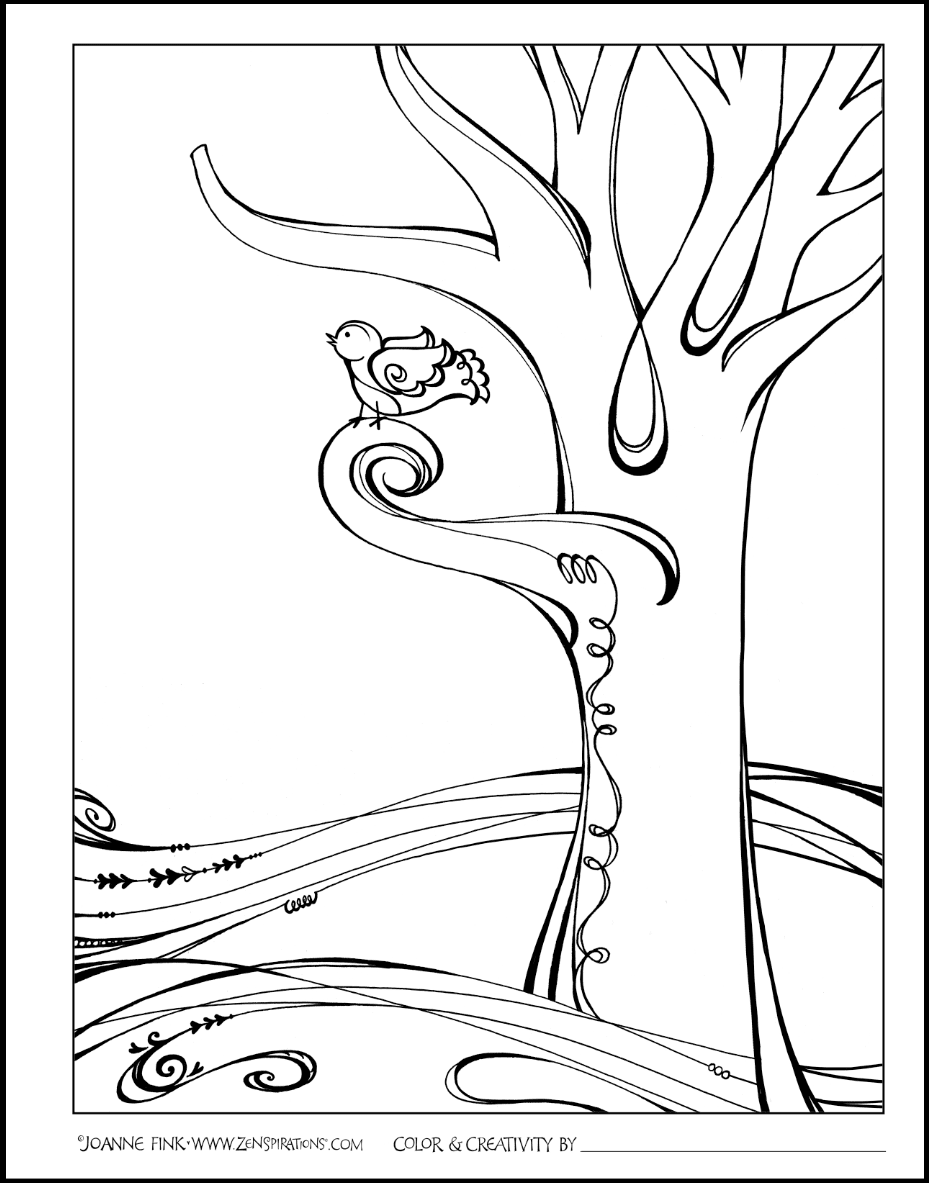 Click Here To Download SWIRLY TREE