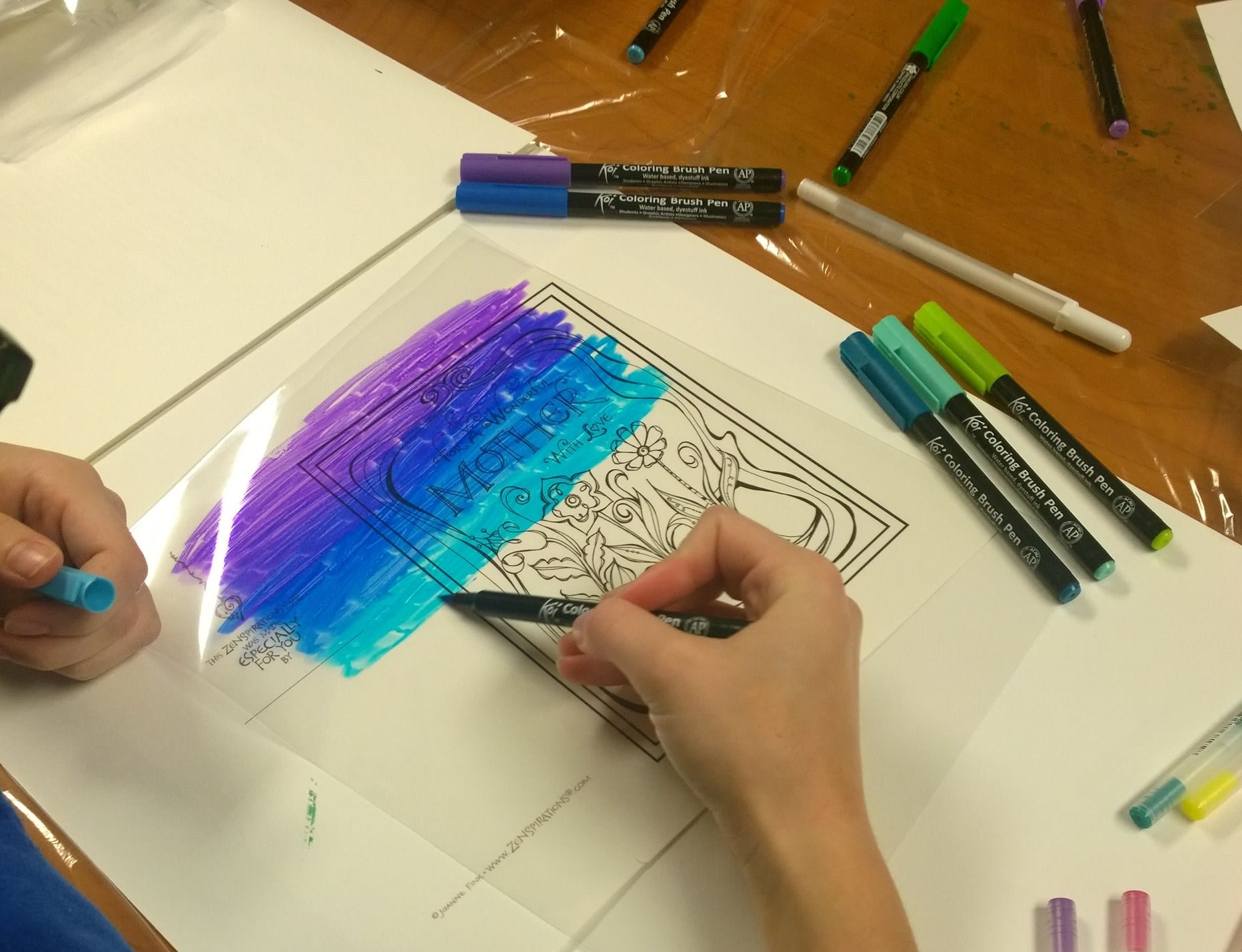Cool, Colorful & Creative - Zenspirations