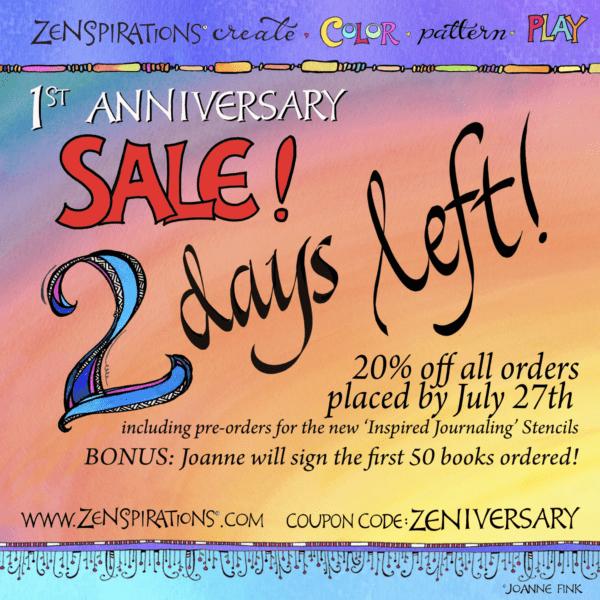 Zenspirations®_Anniversary_Sale_2_Days_Left