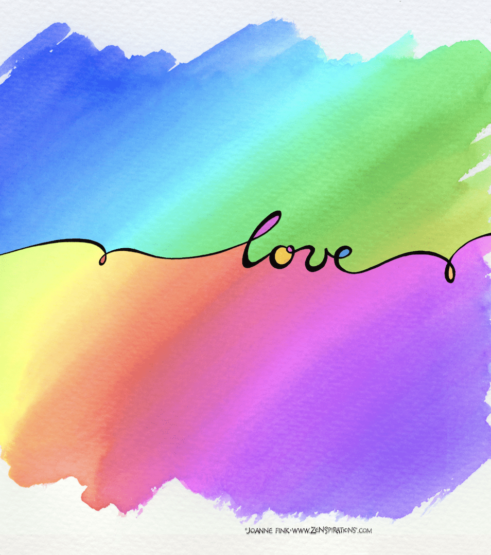 Zenspirations®_by_Joanne_Fink_Love_rainbow_card