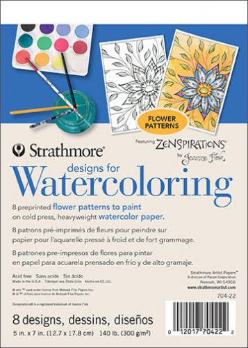 Zenspirations®_by_Joanne_Fink_Designs_For_Watercoloring_Flower_Patterns