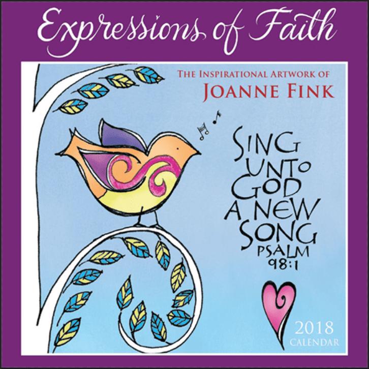 Expressions Of Faith 2018 Mini Calendar